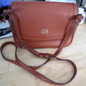 J. Crew Leather Crossbody Bag